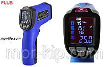Пірометр Flus IR-818 (-50 ° с до +750 ° с) з термопарою К-типу, виміру вологості й температури повітря, DEW