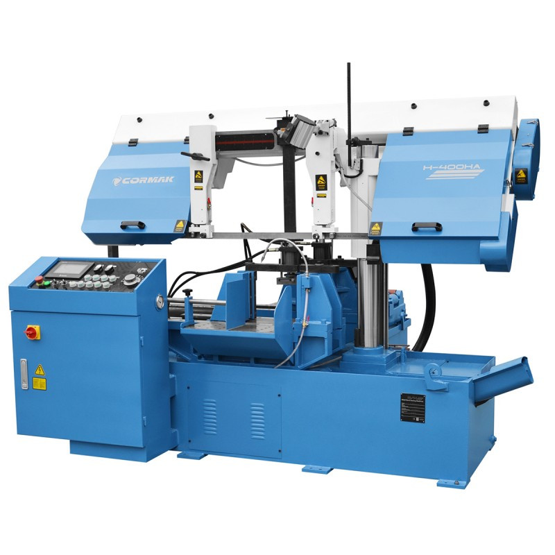 Автоматичний стрічкопильний верстат CORMAK H-400HA