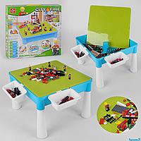 Игровой столик с конструктором LX.A 370 407 деталей, в коробке