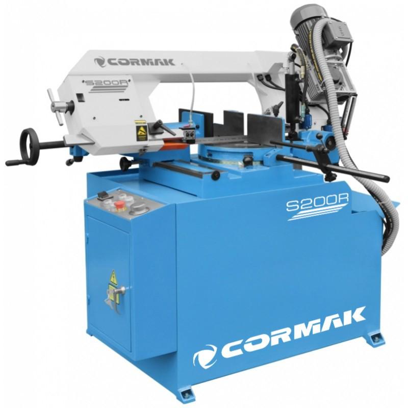 CORMAK S-200R Напівавтоматична стрічкова пила