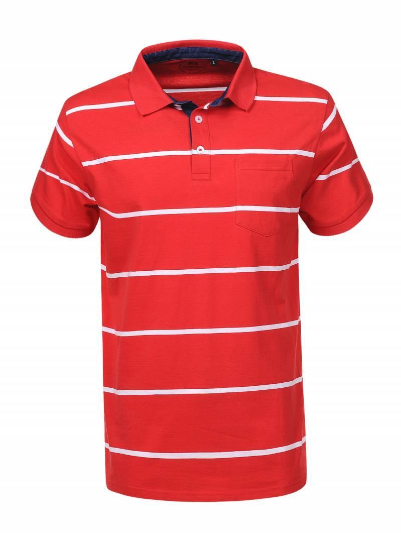 Мужская футболка поло в большом размере