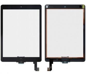 Сенсор (тачскрин) Apple iPad Air 2 A1566, A1567 черный, полный комплект, копия