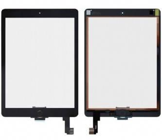 Сенсор (тачскрин) Apple iPad Air 2 A1566, A1567 черный, полный комплект, копия, фото 2