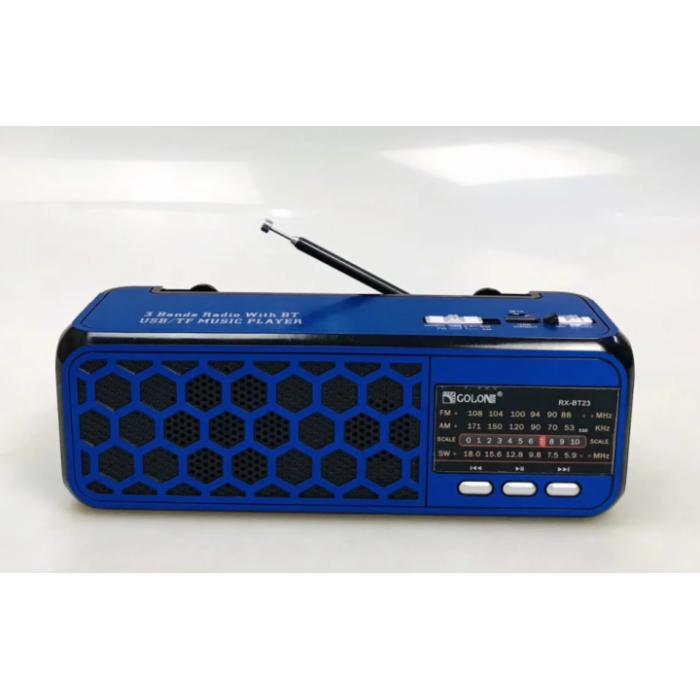 Радиоприемник Golon RX-BT23 Синий