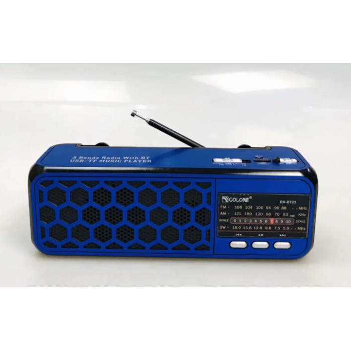 Радіоприймач Golon RX-BT23 Синій