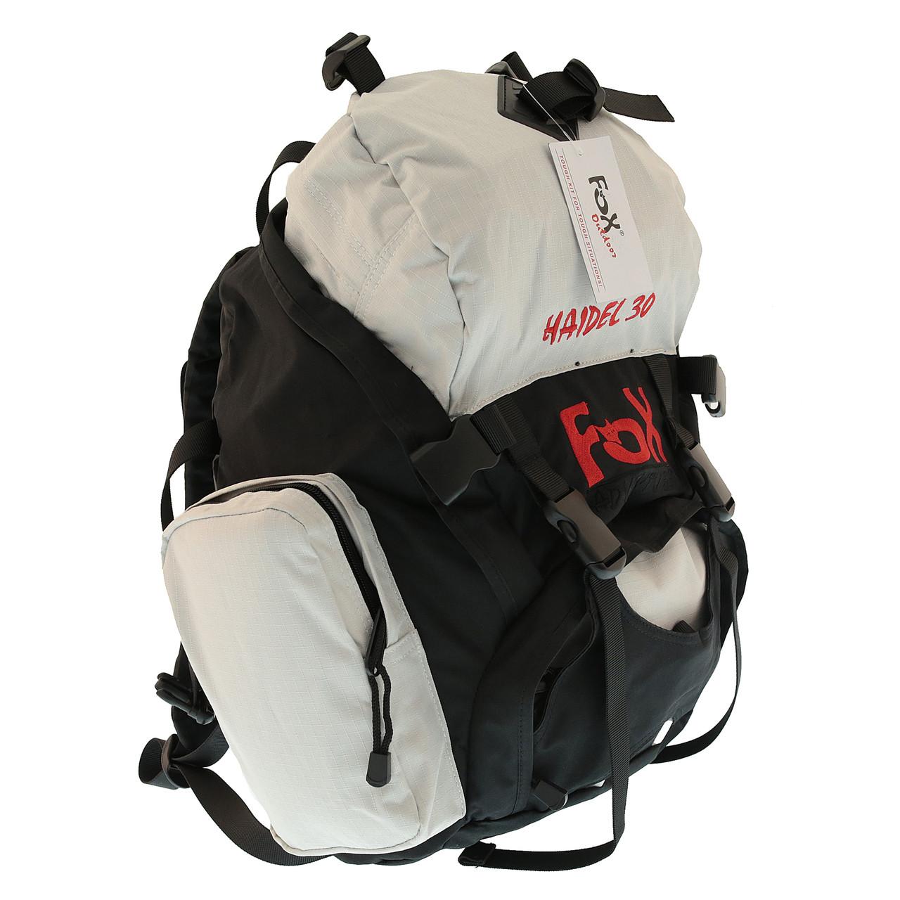 Рюкзак 30 літрів чорний Max Fuchs Fox Haidel Black Sand 30813