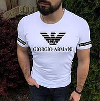 Чоловіча футболка з будь-яким логотипом