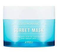 Зволожуюча маска – сорбет A'pieu Good Morning Sorbet Mask 100 мл, фото 1