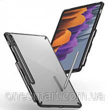 Чехол для Samsung Galaxy Tab S7 Ringke серия Fusion, цвет SMOKE BLACK