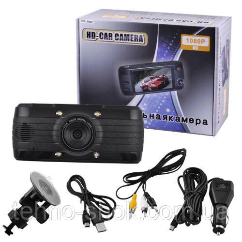 Автомобильный видеорегистратор L3000F, LCD 2.8'', 1080P Full HD