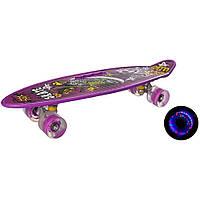 Скейт пенні світяться колеса, фото 1