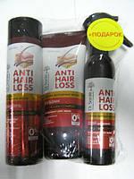 Набор Anti Hair Loss Бальзам 200 мл + Шампунь 250 мл + Спрей 150 мл Dr.Santе