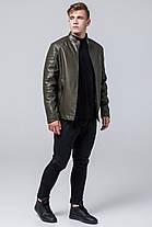 Куртка молодіжна осінньо-весняна чоловіча кольору хакі модель 4327, фото 2