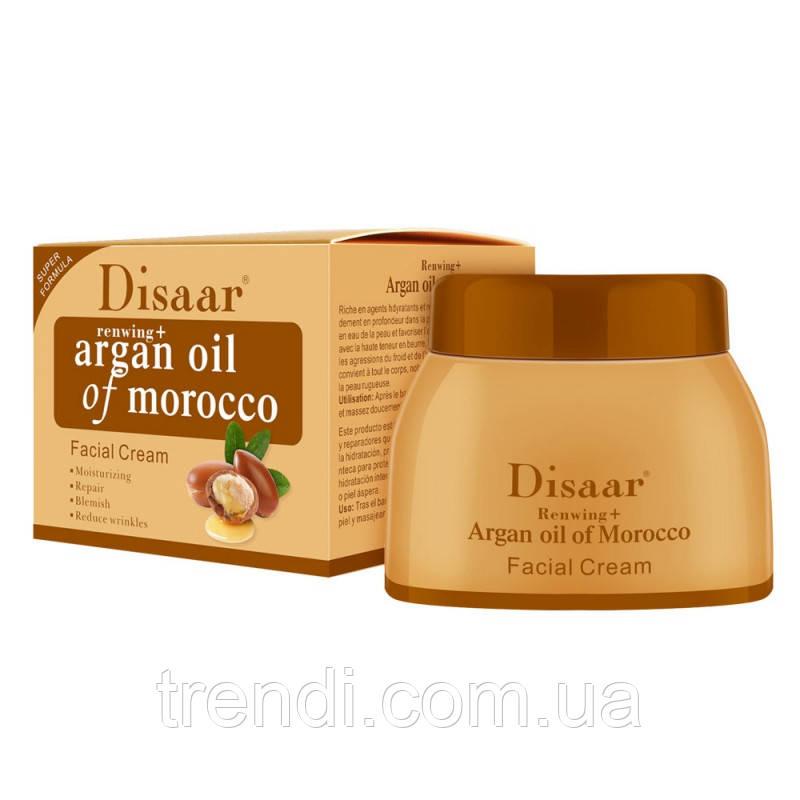 Увлажняющий антивозрастной крем Disaar для лица и тела с аргановым маслом
