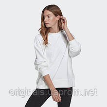 Женский свитшот Adidas Originals 3D Trefoil Oversize GN2844 2021