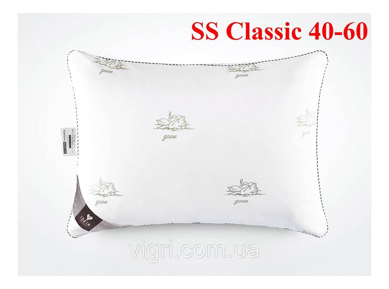 Подушка з лебяжим пухом тм. Ідея. «IDEIA» Super Soft Classic 40-60