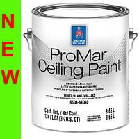 Краска Sherwin-Williams ProMar Ceiling Paint - 3,66л, для потолка глубокоматовая