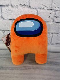 Мягкая игрушка Among Us АС 1 Оранжевый 00006-02помаранч Украина