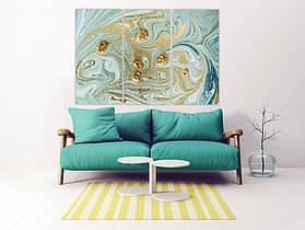 Модульная картина на холсте, абстрактная картина в спальню, зал, прихожую, гостиную