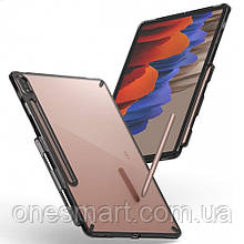 Чехол для Samsung Galaxy Tab S7 Plus Ringke серии Fusion, цвет SMOKE BLACK