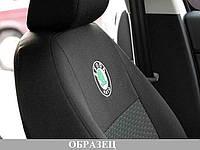 Автомобильные чехлы модельные черные Skoda Octavia Tour 96-03 3 подголовника №519 Elegant CLASSIC