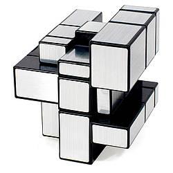 Серебряный Кубик Рубика с разными гранями 3x3, необычный зеркальный Кубик-Рубик (GK)