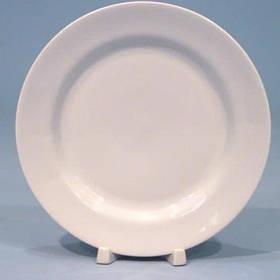 Тарілка мілка біла, малюнок  д=200мм