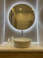 Зеркало круглое с контурной LED подсветкой, 800х800мм, L 57 А