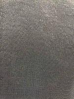 Елегантний молочний тюль з фатину з вишивкою молочного кольору на метраж, висота 3 м(8007), фото 4