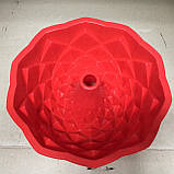 Силиконовая форма Кекс, d-20, h-8 см., фото 3