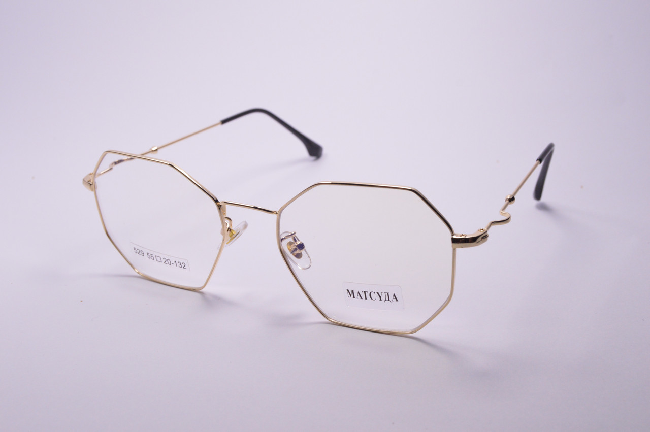 Стильні окуляри для роботи за комп'ютером MATSUDA Blue Blocker (529 з)
