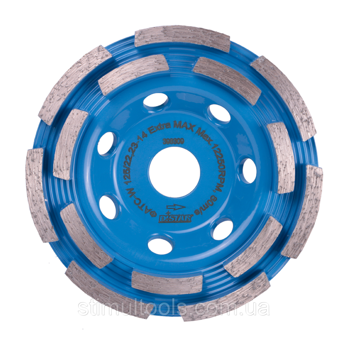 Фреза алмазна по бетону Distar ФАТС-W 125/22,23-7 Raptor