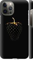 """Чехол на Apple iPhone 12 Pro Max Черная клубника """"3585c-2054-40392"""""""