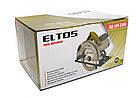 Пила дискова Eltos ПД-185-2200 в металі. Элтос, фото 8