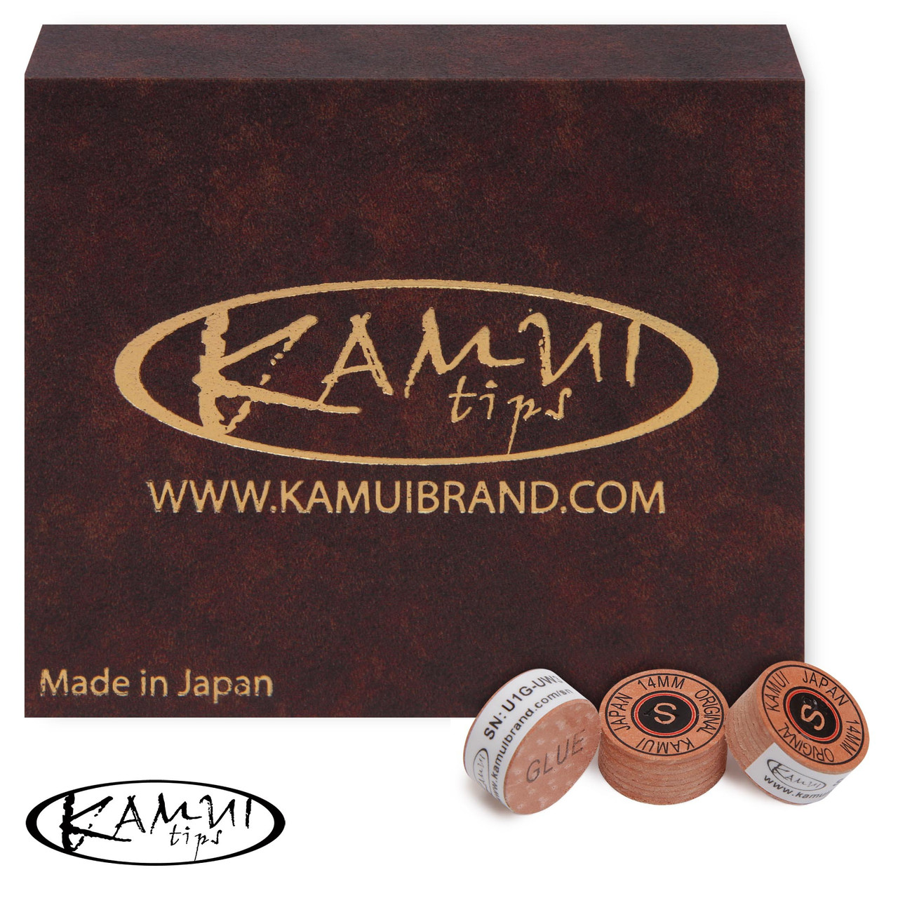 Наклейка для кия Kamui Original 14мм Soft 1шт