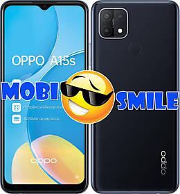 Смартфон Oppo A15s 4/64Gb Black Гарантия 12 месяцев