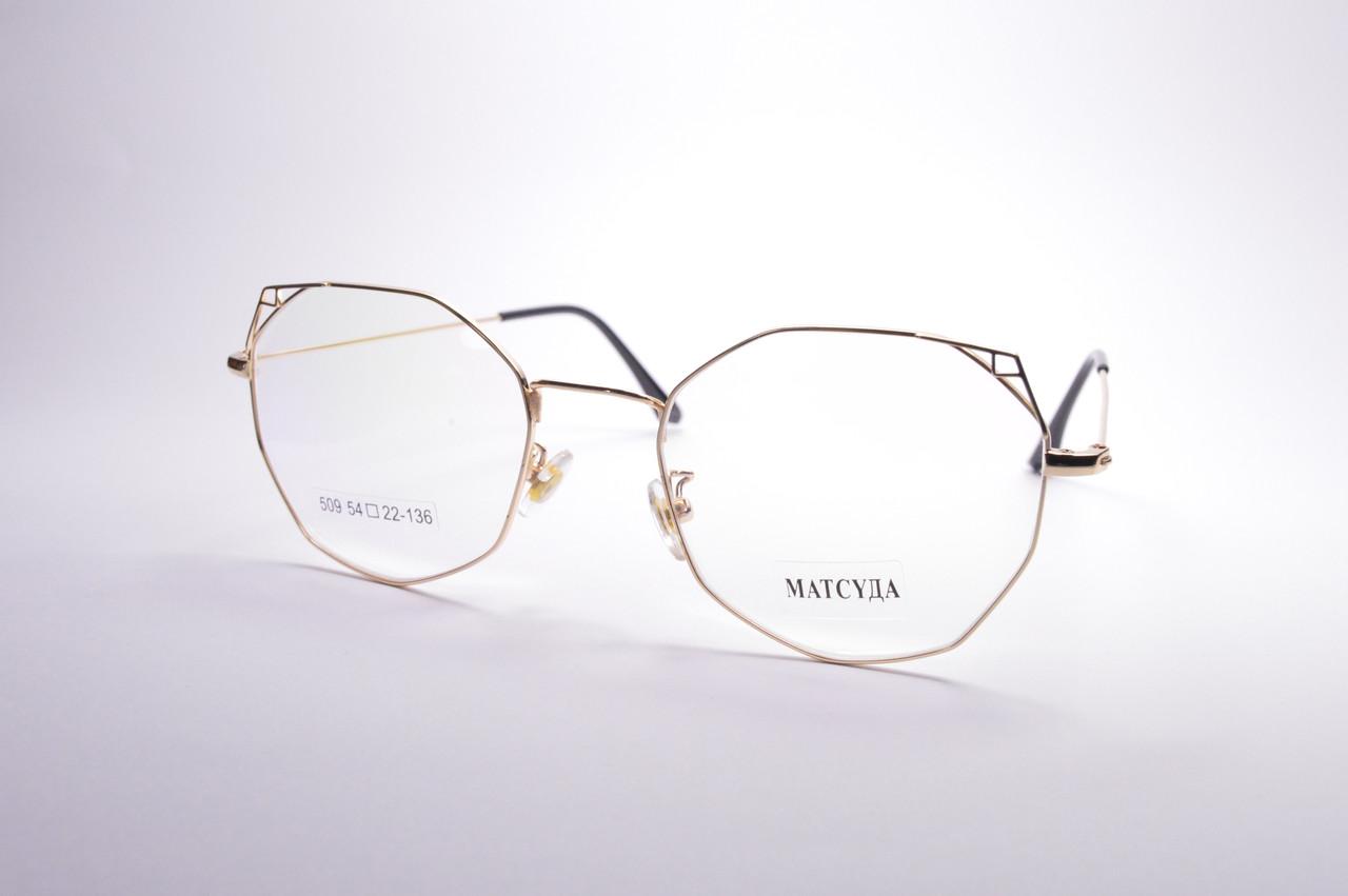 Стильные очки для работы за компьютером MATSUDA Blue Blocker (509 з)