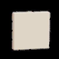 Заглушка на 2 модулі Бежева Unica New NU986644