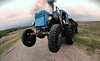 Пьяный тракторист