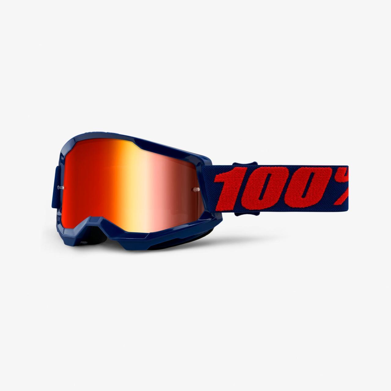 Мотоочки 100% STRATA Goggle II Masego - Mirror Red Lens