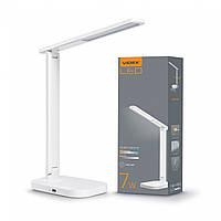 LED настільна лампа VIDEX TF12W 7W 3000-6500K
