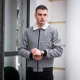 """Куртка Pobedov jacet """" St tropez ялинка сіра, фото 4"""