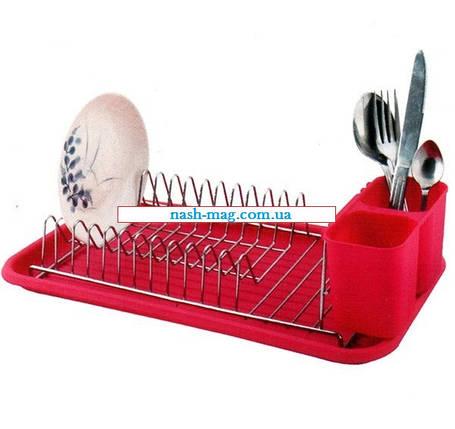 Сушилка для посуды FRICO FRU-543 нержавеющая, фото 2