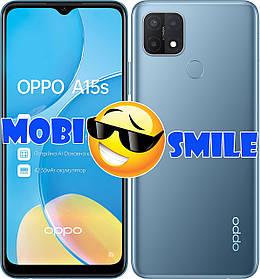 Смартфон Oppo A15s 4/64Gb Blue Гарантия 12 месяцев