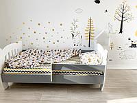 Детская кровать Подростковая кровать для мальчика с бортиком 80*160