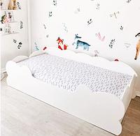 Кровать детская подростковая для девочки белая