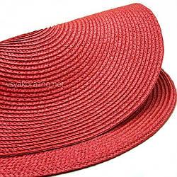 Сервировочный коврик  37,5 см, Красный