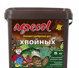 Удобрение 5 кг осеннее для хвойных растений Agrecol