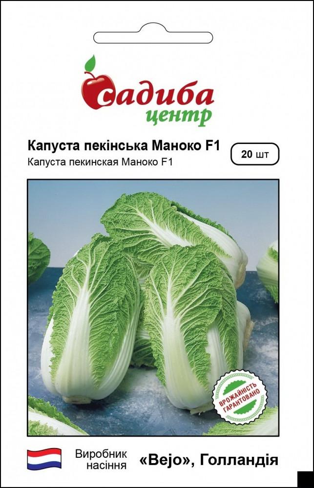 Маноко F1 насіння капусти пекінської (Bejo) 20 шт