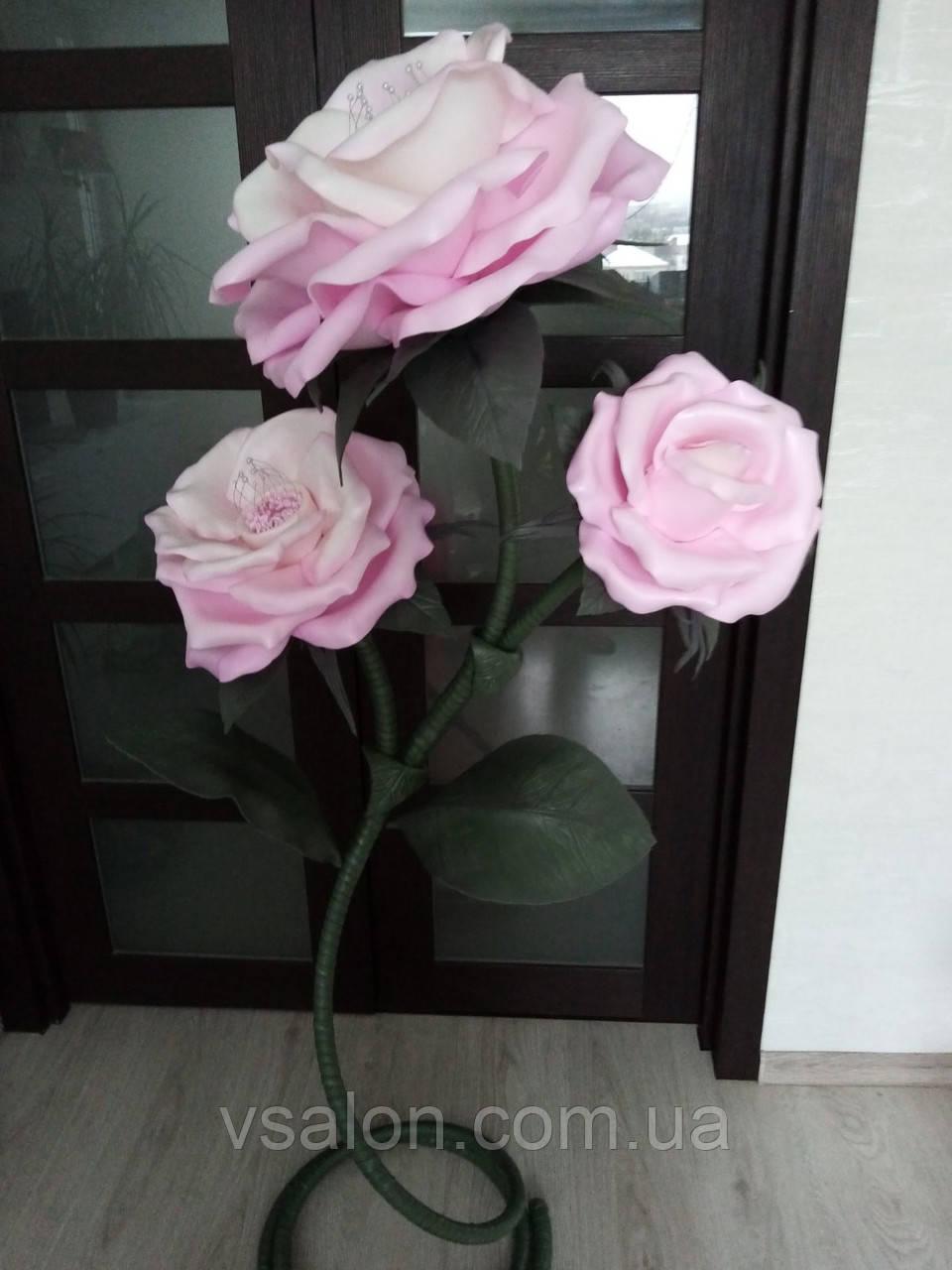 Світильник у вигляді троянди з ізолону